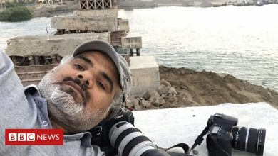 Photo of Abood Hamam: 'A picture can kill you or save your life'