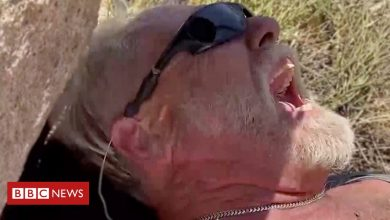Photo of Hiker stranded for 40 hours in the desert films himself