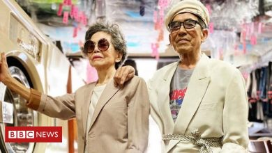 Photo of Taiwanese laundry-modelling grandparents are surprise Instagram hit