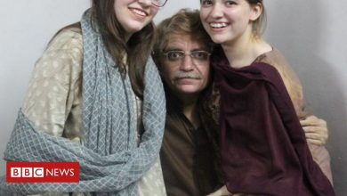 Photo of Idris Khattak: 'My father was taken and I don't know why'