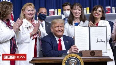 Photo of Donald Trump acts to cut prescription drug prices in US