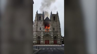 Photo of Nantes cathedral fire: Volunteer admits starting blaze, says lawyer