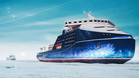 russia-starts-building-world's-largest-&-most-powerful-nuclear-icebreaker-for-arctic-sea-voyages