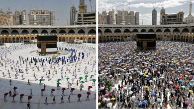 Photo of Coronavirus: Scaled back Hajj pilgrimage begins in Saudi Arabia