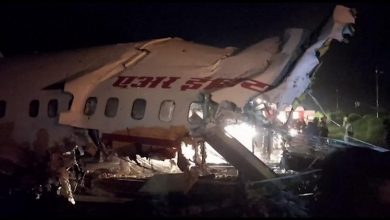 Photo of Kerala plane crash: 16 dead after Air India plane breaks in two at Calicut