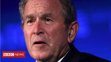 Photo of George W Bush to publish book of immigrant oil portraits