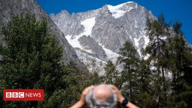 Photo of Mont Blanc: Glacier collapse risk forces Italy Alps evacuation
