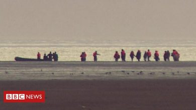 Photo of 'No sign of surveillance' as migrants flee France