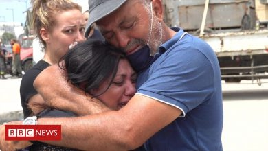 Photo of Beirut explosion: Families search for missing loved ones