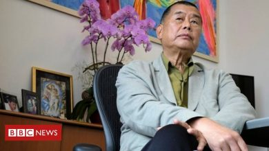 Photo of Hong Kong pro-democracy tycoon Jimmy Lai arrested