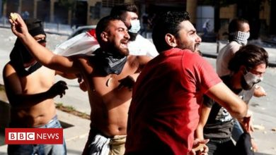 Photo of Beirut explosion: Anger boils over in Beirut protests