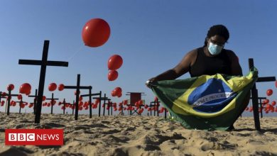 Photo of Coronavirus: Brazil passes 100,000 deaths as outbreak shows no sign of easing