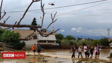 Photo of Greece floods: At least five killed after Evia island storms