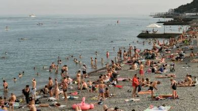 Photo of Nearly 1.5 million tourists flock to Crimea after Russia eases coronavirus restrictions