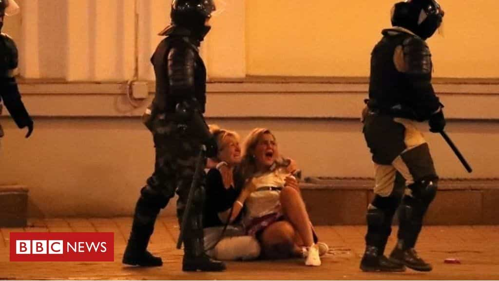 belarus-election:-a-second-night-of-violence-and-protests
