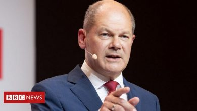 Photo of 'Bazooka man' Olaf Scholz in bid to become German chancellor