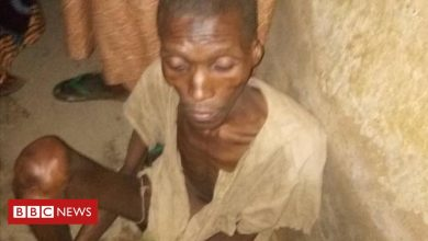 Photo of Nigerian police rescue Kano man locked up in his parents' garage