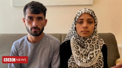 Photo of The couple blamed for an Islamic State attack on their wedding