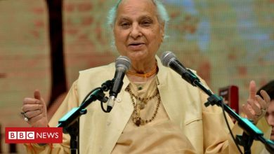 Photo of Pandit Jasraj: A 'huge pillar of Indian music has fallen'