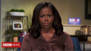 Photo of Michelle Obama: Trump is 'wrong president' for US