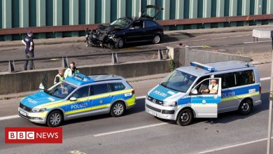 Photo of Berlin motorway crashes 'a possible terror attack'