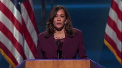 Photo of Kamala Harris: at DNC 2020: There is no vaccine for racism