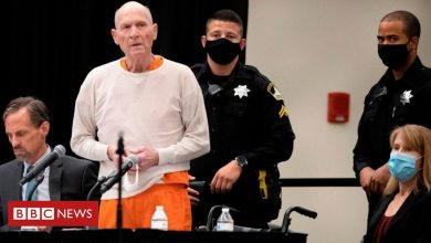 Photo of Golden State Killer sentenced to life in prison
