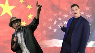 Photo of China-US comedians: 'We hope jokes travel faster than the virus'