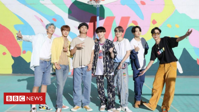 Photo of BTS's Dynamite explodes YouTube records and heads for UK number one