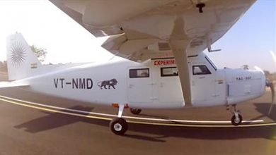 Photo of Plane built on Mumbai rooftop takes to the skies
