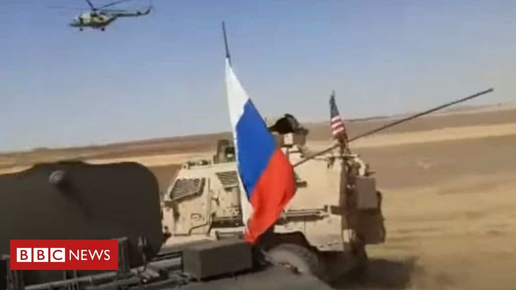 syria-war:-russian-and-us-military-vehicles-collide