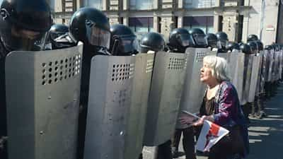 belarus-protest:-dozens-arrested-at-mass-rally