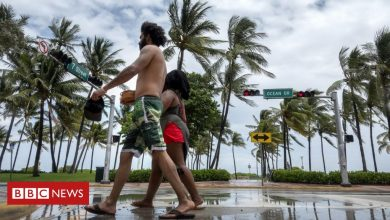 Photo of Tropical Storm Isaias nears coronavirus-hit Florida
