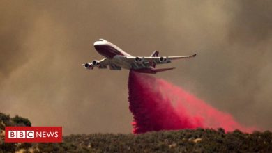 Photo of Apple Fire: Firefighters battle massive blaze in California