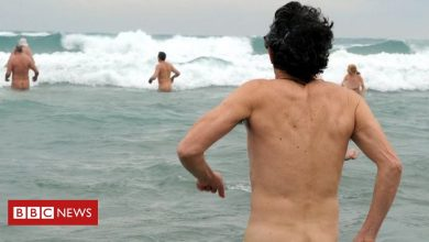 Photo of The nudists spreading coronavirus in a French resort