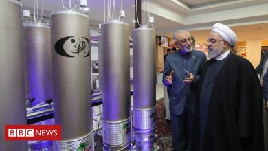 Photo of Iran's enriched uranium stockpile '10 times limit'