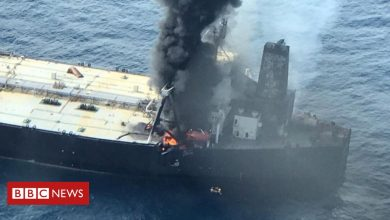 Photo of Oil tanker towed from Sri Lanka shoreline amid spill fears