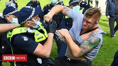 Photo of Coronavirus: Arrests at Australia anti-lockdown protests