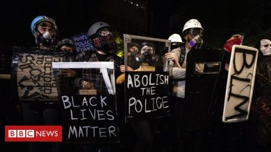 Photo of US protests: Dark-clad thugs on planes and other claims fact-checked