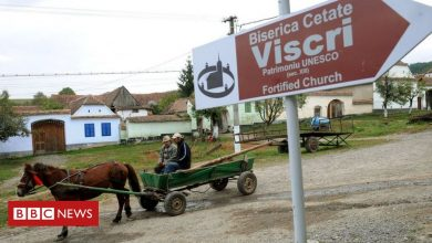 Photo of Romanian tourists swamp village loved by Prince Charles
