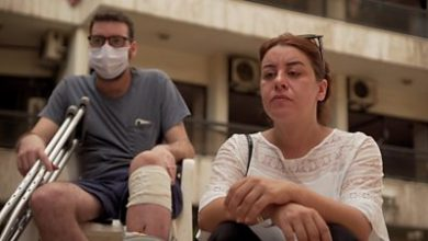 Photo of Beirut blast: 'I love you, don't leave me'