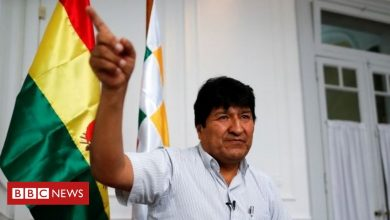Photo of Bolivia's ex-leader Evo Morales barred from senate run