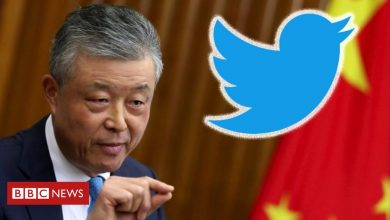 Photo of Chinese embassy calls for Twitter inquiry after porn clip liked
