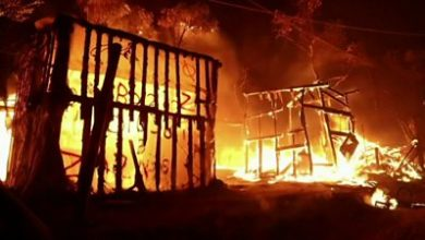 Photo of Moria fire: 'I know how little people had before'