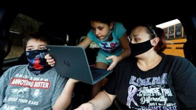 Photo of Digital divide: 'My children's classroom is a car park'