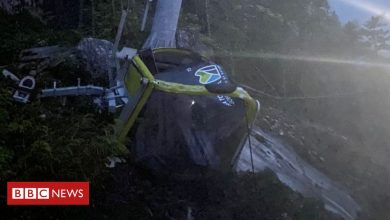Photo of Canadian cable car cord severed again in suspected sabotage