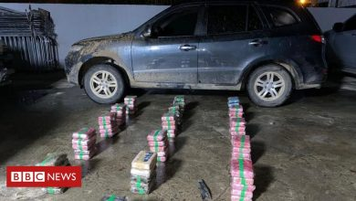 Photo of Panama governor stopped in car with 79 drug parcels