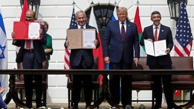 Photo of Trump on Israel-UAE-Bahrain deals: 'We mark the dawn of a new Middle East'