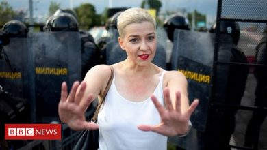 Photo of Belarus protests: Maria Kolesnikova charged under security law