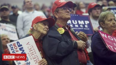 Photo of US election: Are older Trump voters sticking with him?